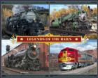 Legends of the Rails - 1000pc Jigsaw Puzzle by White Mountain