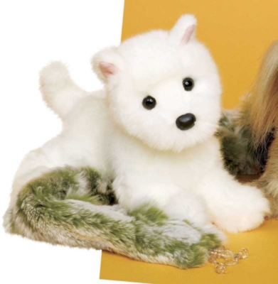 Ava Mini Westie - 12'' Dog By Douglas Cuddle Toys