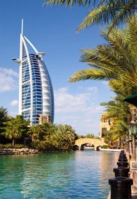 Dubai - 1000pc Jigsaw Puzzle by Castorland