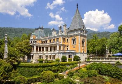 Jigsaw Puzzles - Massandra Palace, Crimea