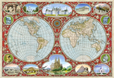 World Map - 2000pc Jigsaw Puzzle By Castorland