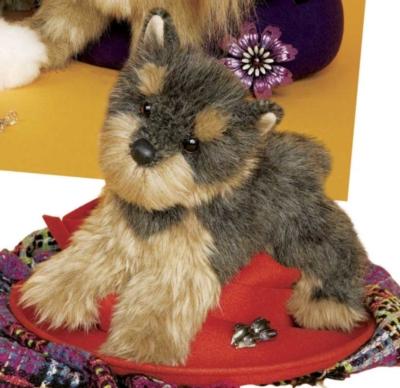 Camilla Yorkie - 12'' Dog By Douglas Cuddle Toys
