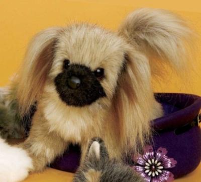 Buttons Pekingese - 12'' Dog By Douglas Cuddle Toys