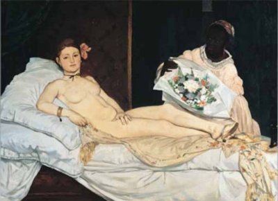 Edouard Manet: Olympia - 1000pc Jigsaw Puzzle by Ricordi