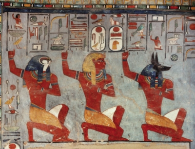 Egyptian Art Ramses III - 1000pc Jigsaw Puzzle by Ricordi