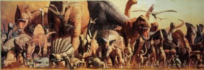 Haruo Takino: The Dinosaurs - 1000pc Jigsaw Puzzle by Ricordi