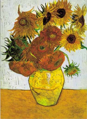 Vincent Van Gogh: Sunflowers - 1500pc Jigsaw Puzzle by Ricordi