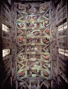 Michelangelo: Sistine Chapel - 1500pc Jigsaw Puzzle by Ricordi