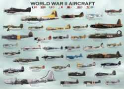 Eurographics Jigsaw Puzzles - WWII Aircraft