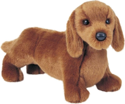Gretel Red Dachshund - 12'' Dog By Douglas Cuddle Toys