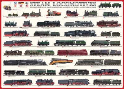Eurographics Jigsaw Puzzles - Steam Locomotives