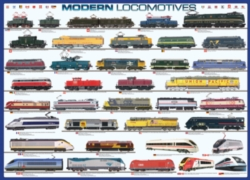 Eurographics Jigsaw Puzzles - Modern Locomotives