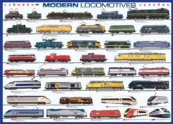Eurographics Jigsaw Puzzles - Modern Locomotives