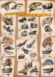 Eurographics Jigsaw Puzzles - Dinosaur Skulls