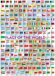 Eurographics Jigsaw Puzzles - Flags of the World