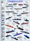 Submarines & U-Boats - 1000pc Educational Jigsaw Puzzle by Eurographics