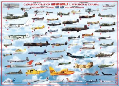 Eurographics Jigsaw Puzzles - History of Canadian Aviation