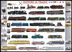 Eurographics Jigsaw Puzzles - History of Trains