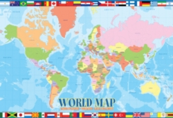 Eurographics Jigsaw Puzzles - World Map