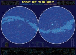 Educational Puzzles - Map of the Sky