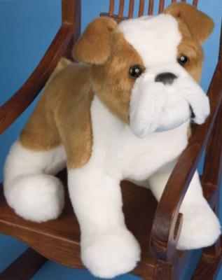 "Norman Bulldog - 12"" Dog by Douglas Cuddle Toys"