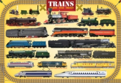 Eurographics Jigsaw Puzzles - Trains
