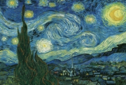 Eurographics Jigsaw Puzzles - Starry Night