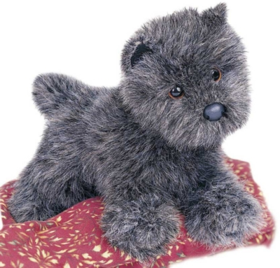 Heather Cairn Terrier - 12'' Dog By Douglas Cuddle Toys