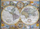 Antique World Map - 1000pc Jigsaw Puzzle by Eurographics