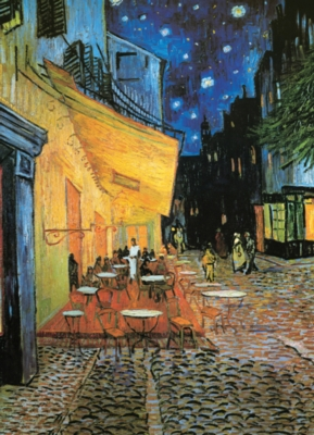 Eurographics Jigsaw Puzzles - Cafe at Night