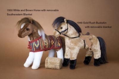 Apple Jack White Spot - 10'' Horse By Douglas Cuddle Toys