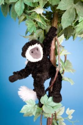 "Zio Colobus Monkey - 11"" Monkey By Douglas Cuddle Toy"
