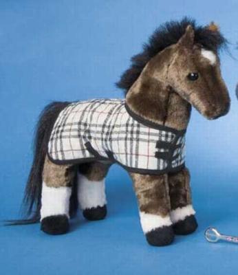 Dixon Chestnut - 10'' Horse By Douglas Cuddle Toys