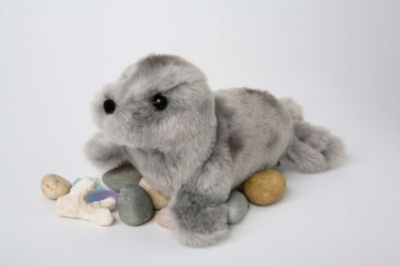 "Lucille Seal - 9"" Seal By Douglas Cuddle Toy"