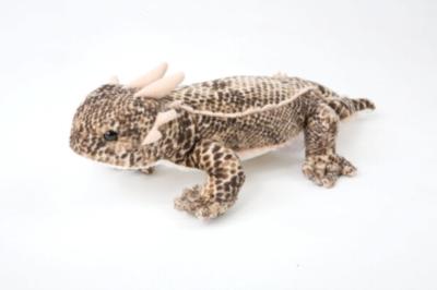 """Horned Lizard - 11"""" Lizard By Douglas Cuddle Toy"""