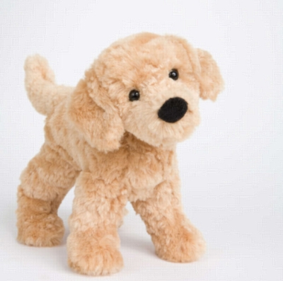 "Thatcher Golden Retriever - 7"" Dog By Douglas Cuddle Toy"