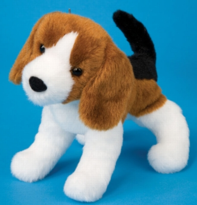 "Salsa Beagle - 8"" Dog By Douglas Cuddle Toy"