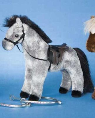 Duchess Dapple Gray - 10'' Horse By Douglas Cuddle Toys