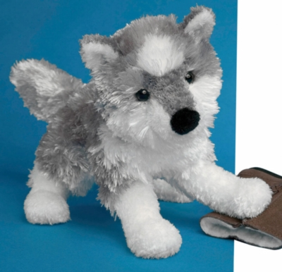 "Blizzard Husky - 8"" Dog By Douglas Cuddle Toy"
