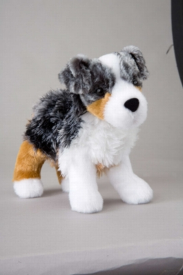 "Steward Australian Shepherd - 8"" Dog By Douglas Cuddle Toy"