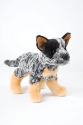 "Clanger Australian Cattle Dog - 8"" Dog By Douglas Cuddle Toy"