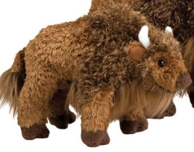 """Bodi Buffalo - 8"""" Buffalo By Douglas Cuddle Toy"""