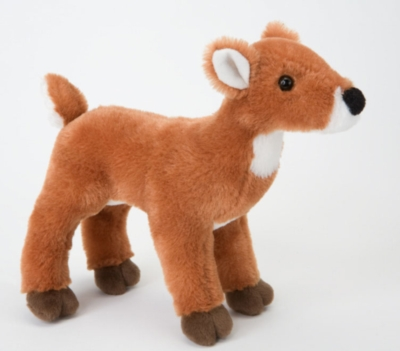 "Flora Fawn - 7"" Deer By Douglas Cuddle Toy"