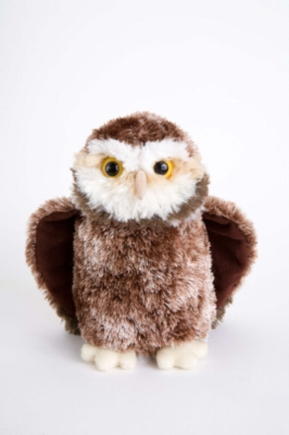 "Moonlight Owl - 7"" Owl By Douglas Cuddle Toy"