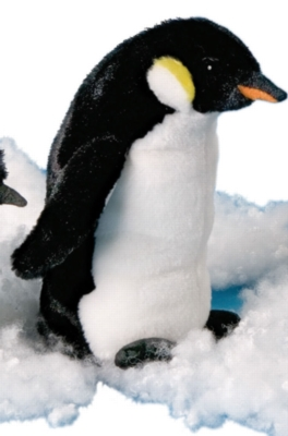 "Bibs Emperor Penguin - 8"" Penguin By Douglas Cuddle Toy"