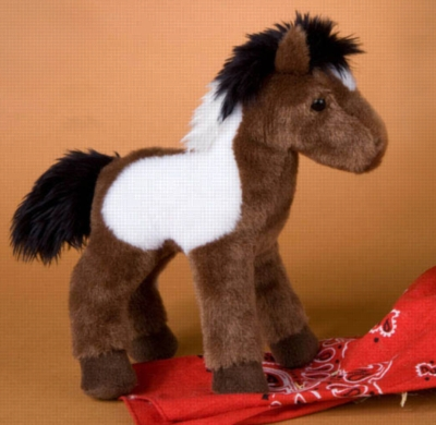 "Aztec Indian Paint Horse - 8"" Horse By Douglas Cuddle Toy"