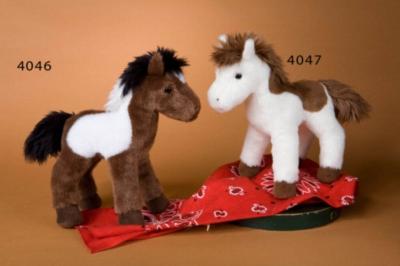 "Arrow Head Paint Horse - 8"" Horse By Douglas Cuddle Toy"