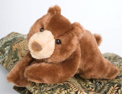 "Brooks Brown Bear - 8"" Bear By Douglas Cuddle Toy"