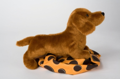 "Dilly Dachshund - 10"" Dog by Douglas Cuddle Toy"