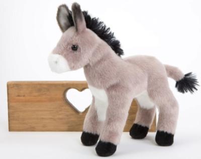 """Bordon Burro - 8"""" Donkey By Douglas Cuddle Toy"""